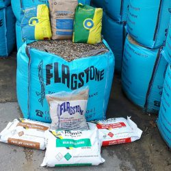 Wide range of aggregates, sands, cement and post mix in stock
