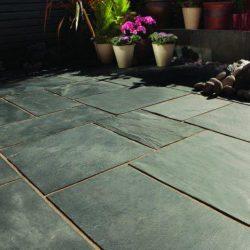 Blue-black natural slate