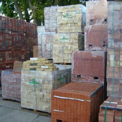 Large selection of bricks in stock
