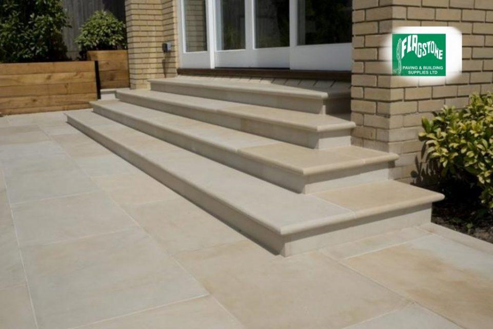 Natural Bullnosed Steps