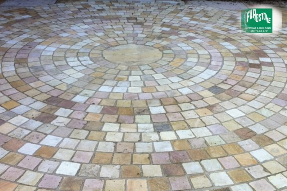 Natural Sandstone Setts