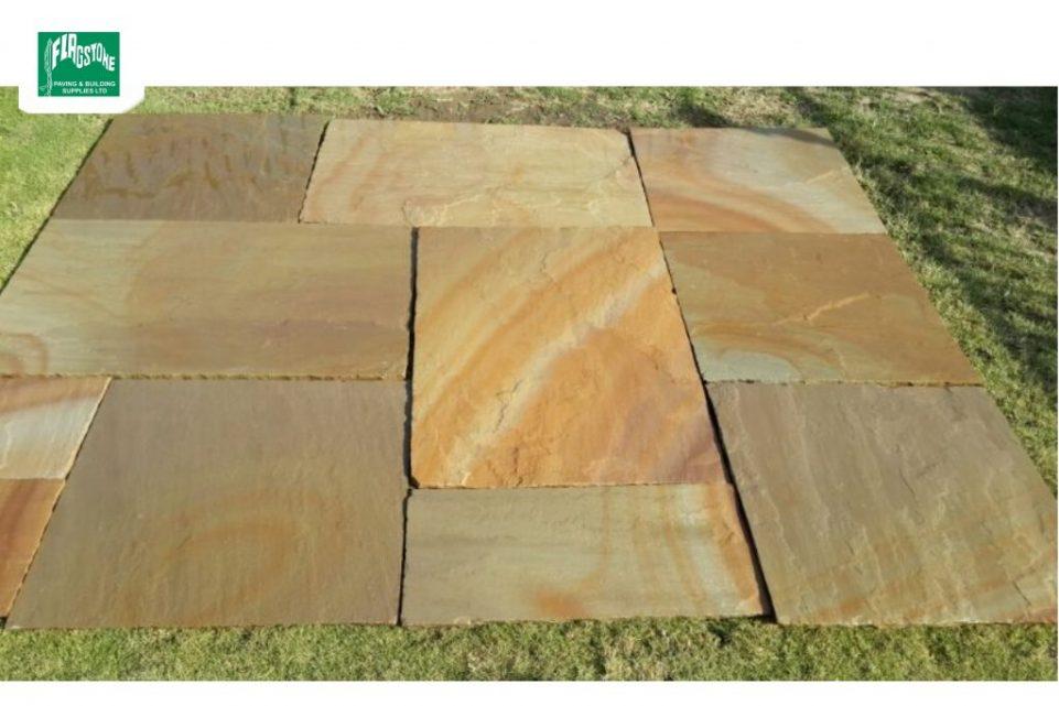 sunset buff natural sandstone