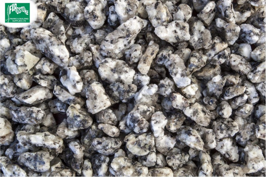 14mm Silver Grey Granite Chippings
