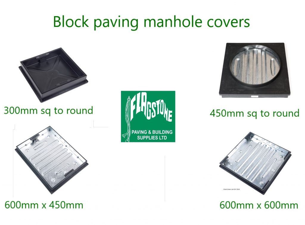 Block paving manhole covers