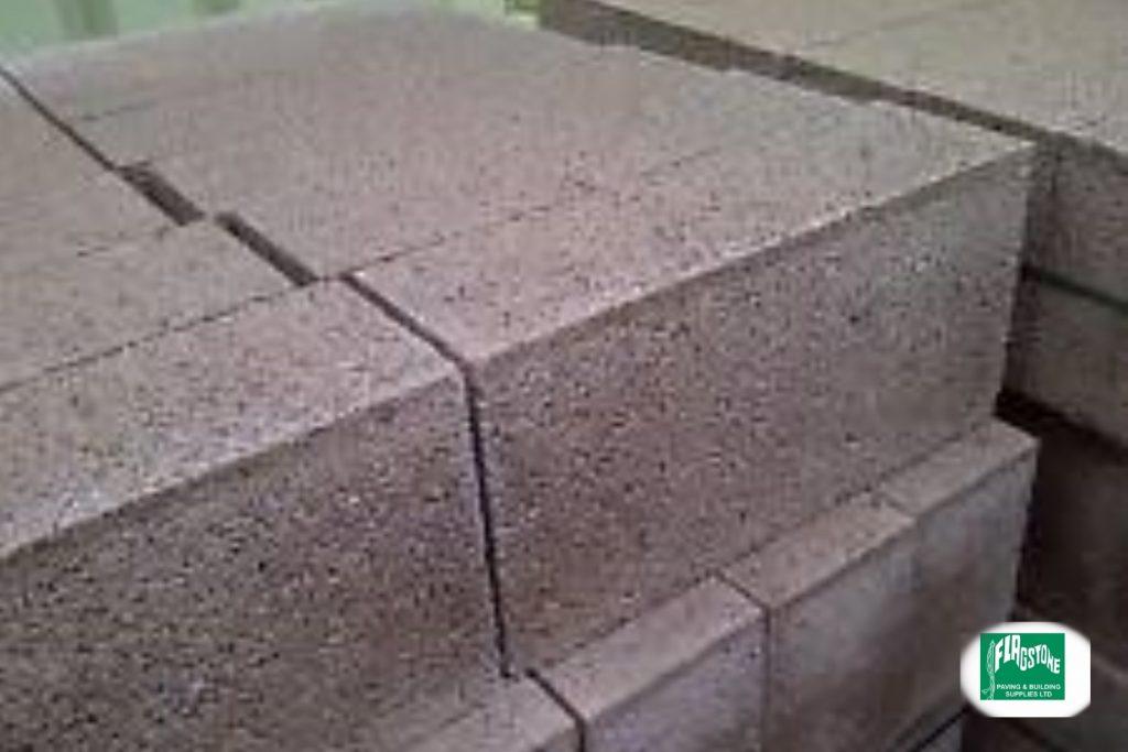 100mm Medium dense concrete blocks