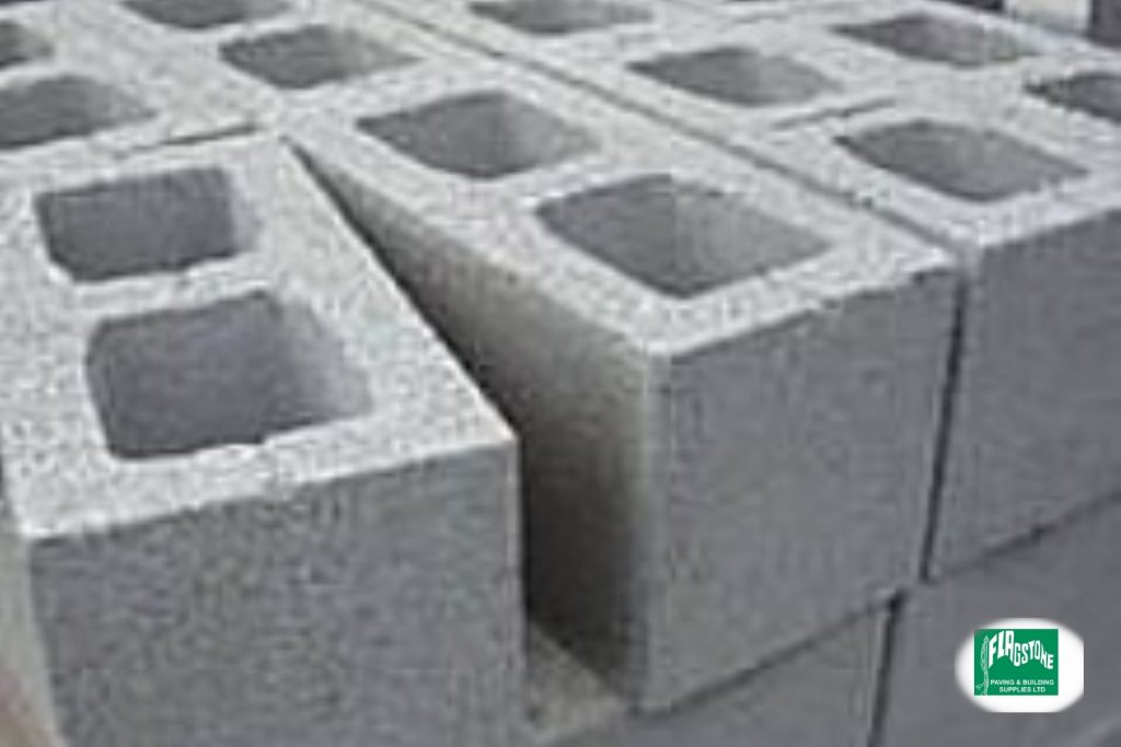 215mm Hollow Concrete Block