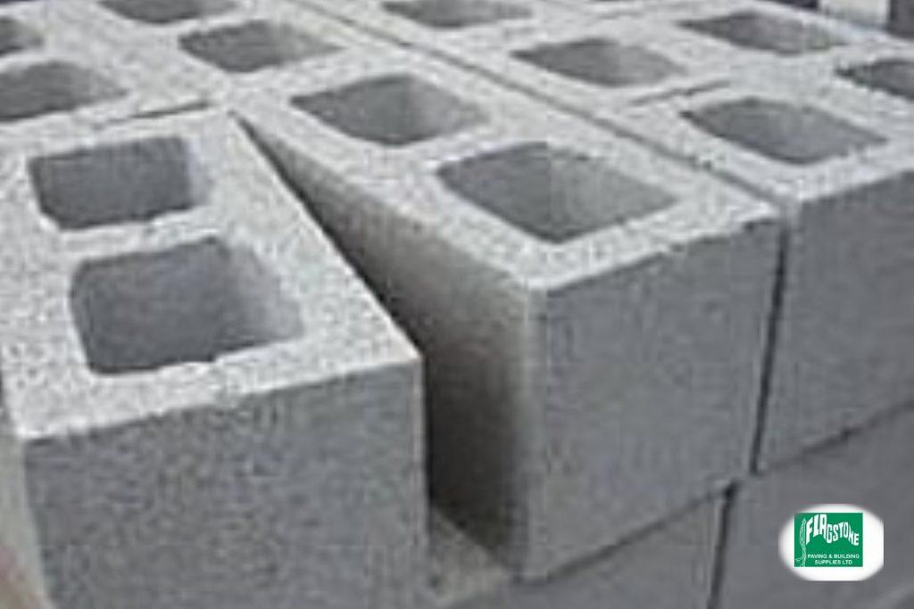 215mm Hollow Concrete Block