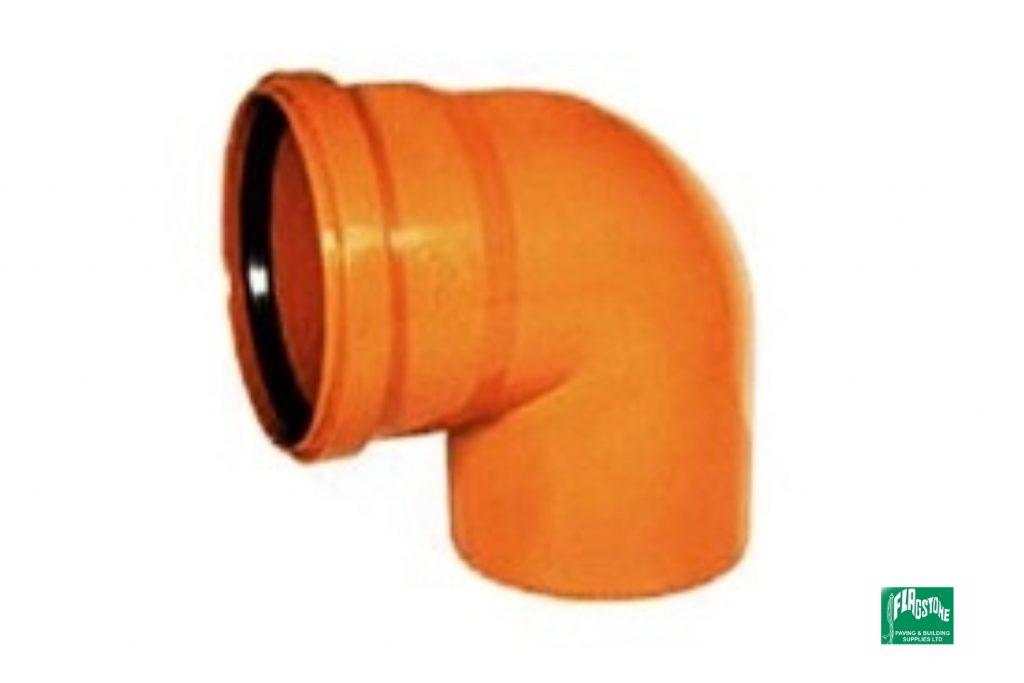 90° single socket elbow
