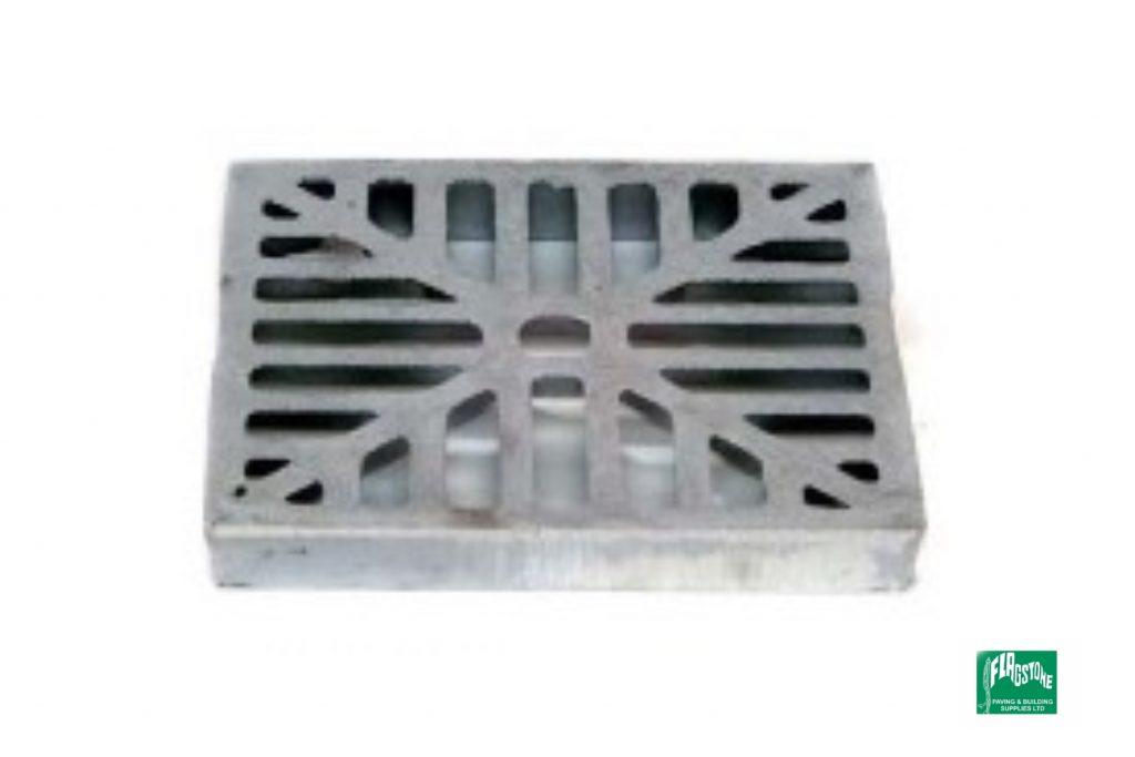 Aluminium square hopper grid