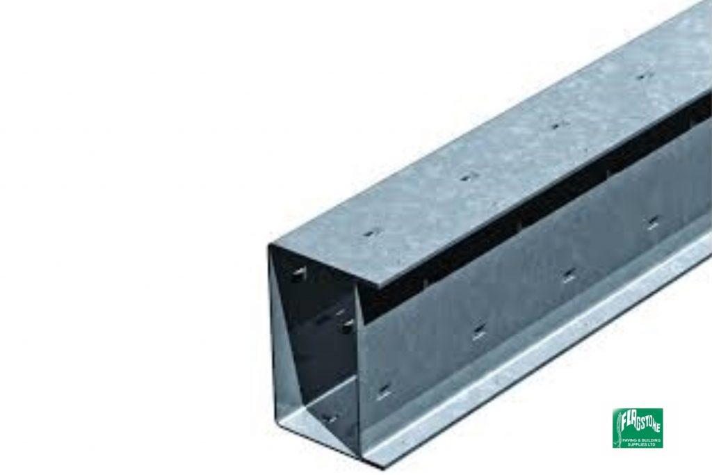 Steel box lintel