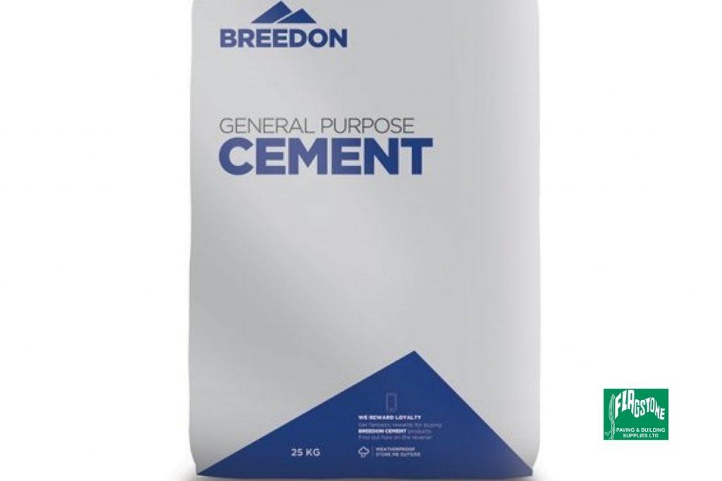 Cement in waterproof bag